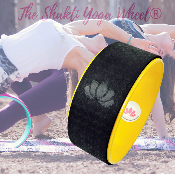 Bumble-Bee Yellow Yoga Wheel Imprint - The Shakti Yoga Wheel