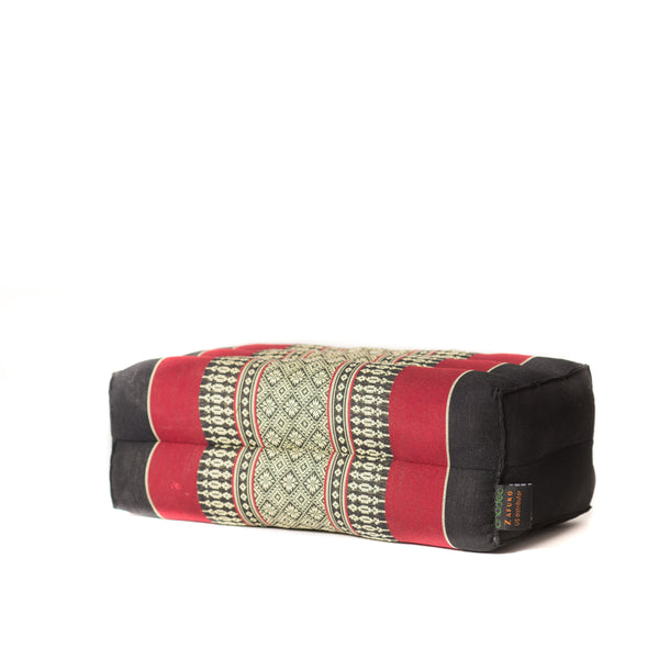 Basic Block Cushion Black/Red