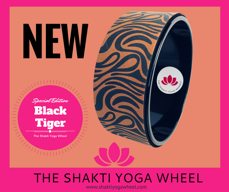 Black Tiger Yoga Wheel - The Shakti Yoga Wheel