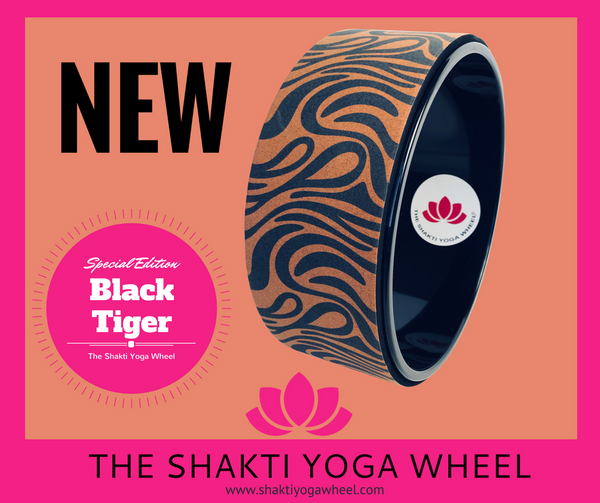 Black Tiger Yoga Wheel
