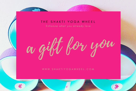 Giftcard - $25 - The Shakti Yoga Wheel