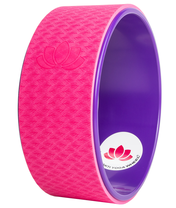 Purple Pink Yoga Wheel Imprint