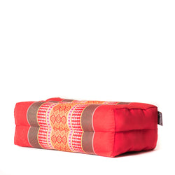 Basic Block Cushion Red/Orange (Limited)