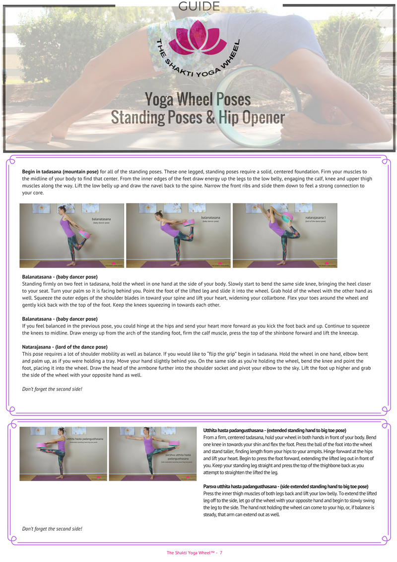 The Shakti Yoga Wheel® - 98 Posture Guide (e-book) - The Shakti Yoga Wheel
