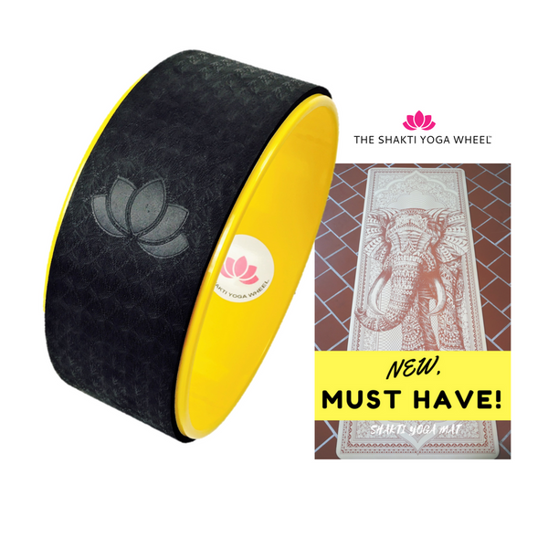 Shakti Yoga Wheel® & Mat Special - 30% OFF - The Shakti Yoga Wheel