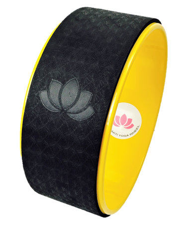 Bumble-Bee Yellow Yoga Wheel Imprint