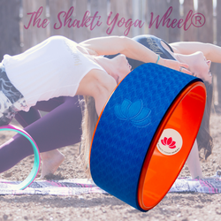 Orange Yoga Wheel - The Shakti Yoga Wheel