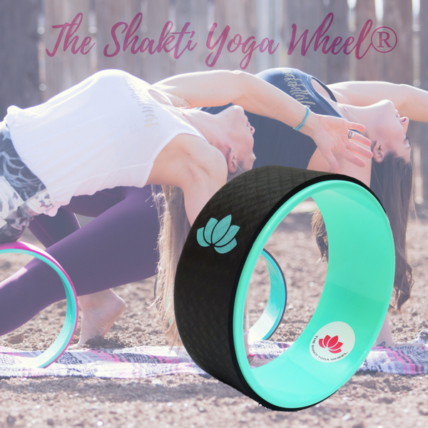Black Yoga Wheel Green Lotus - The Shakti Yoga Wheel