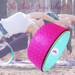 Pink Yoga Wheel Imprint - The Shakti Yoga Wheel