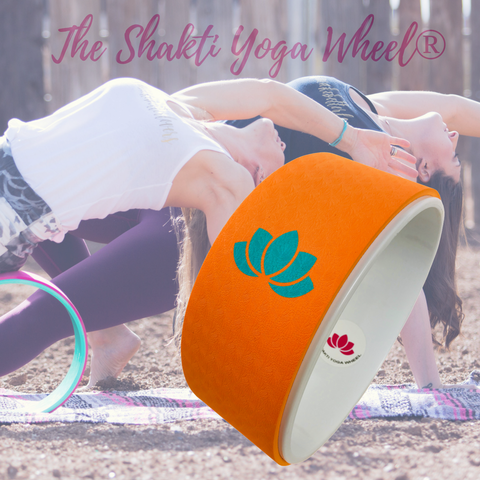 Orange Yoga Wheel