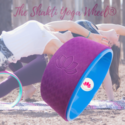 Blue Purple Yoga Wheel Imprint - The Shakti Yoga Wheel