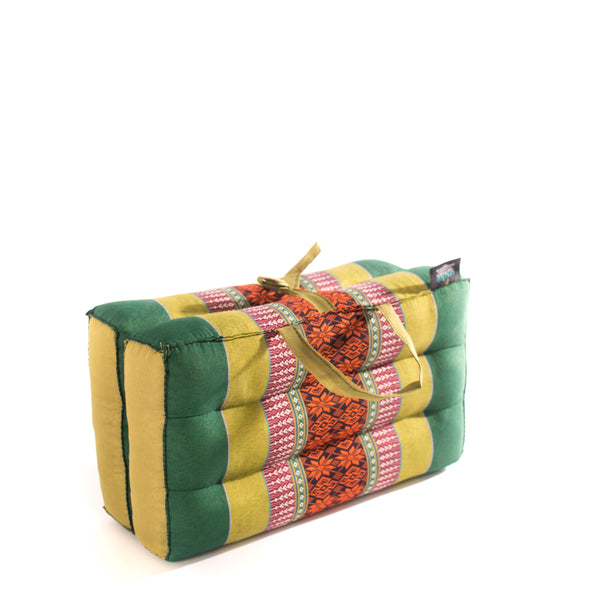 Medium Foldable Cushion Jade/Green