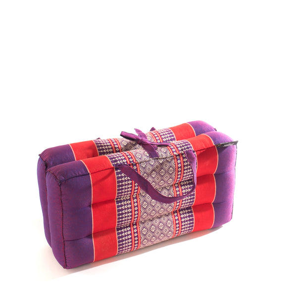 Medium Foldable Cushion Purple /Red