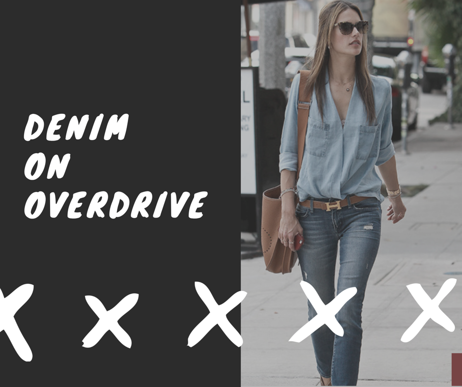 Denim in Overdrive!