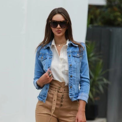 Tailored Blue Denim Jacket