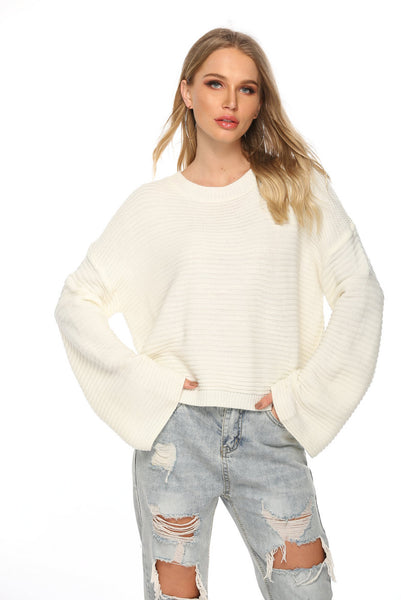 Roxsta White Knit Jumper