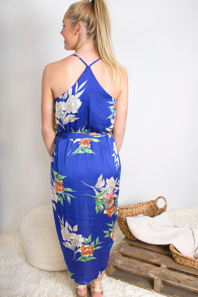 Birds Of Paradise Maxi Dress
