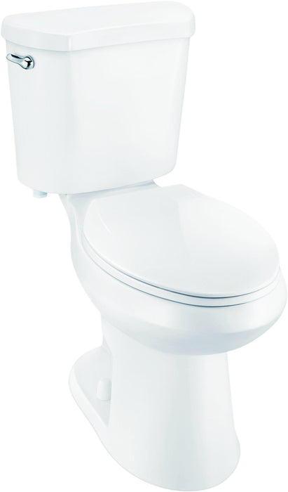 PREMIER SELECT® HIGH EFFICIENCY ALL-IN-ONE ELONGATED COMFORT HEIGHT TOILET WITH PLASTIC SEAT, 1.28 GPF