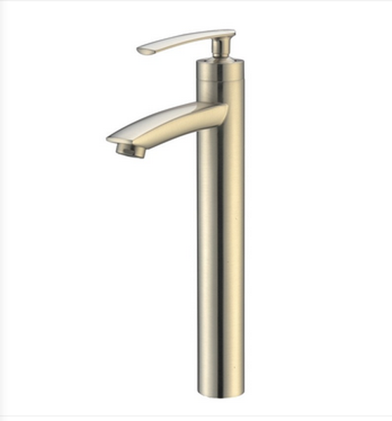 Buy Single Hole Bathroom Faucet with Solid Brass Construction - Zen Tap Sinks - 1