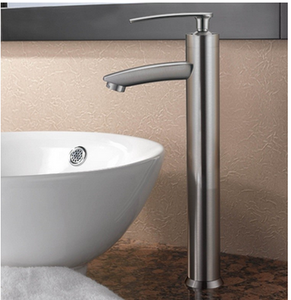 Buy Single Hole Bathroom Faucet with Solid Brass Construction - Zen Tap Sinks - 2