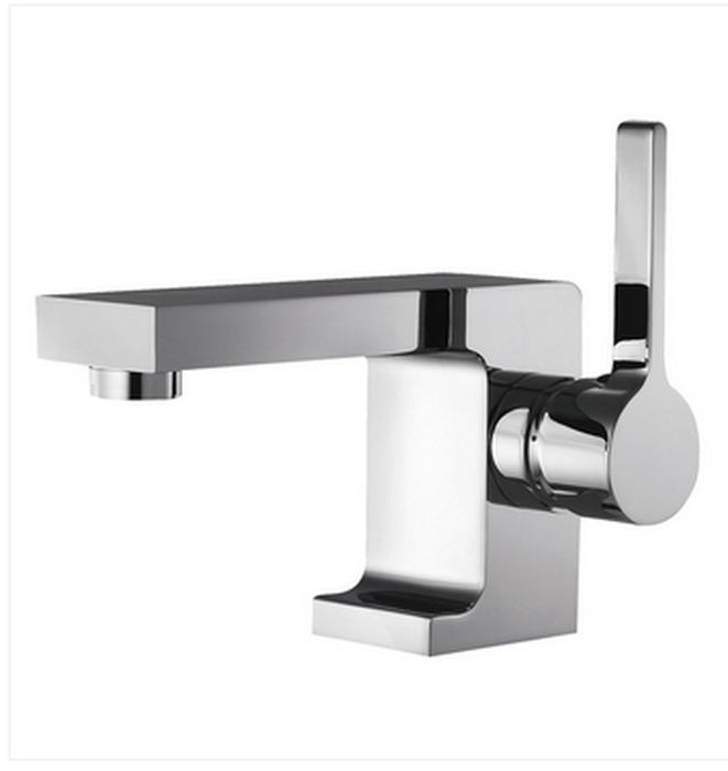 Buy Deck Mounted Single Hole Lever Handle Bathroom Faucet - Zen Tap Sinks
