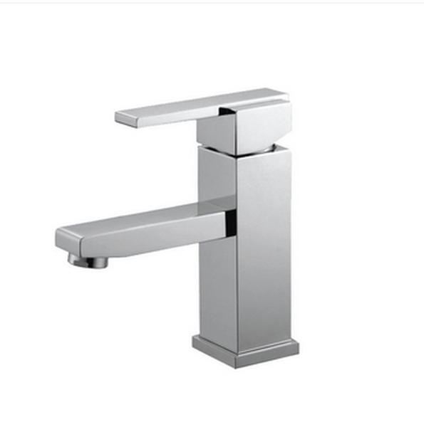 Buy Square Single Lever Deck Mounted Lavatory Faucet - Zen Tap Sinks