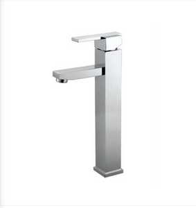 Buy Deck Mounted Square High-Raised 1-Handle Lavatory Faucet - Zen Tap Sinks