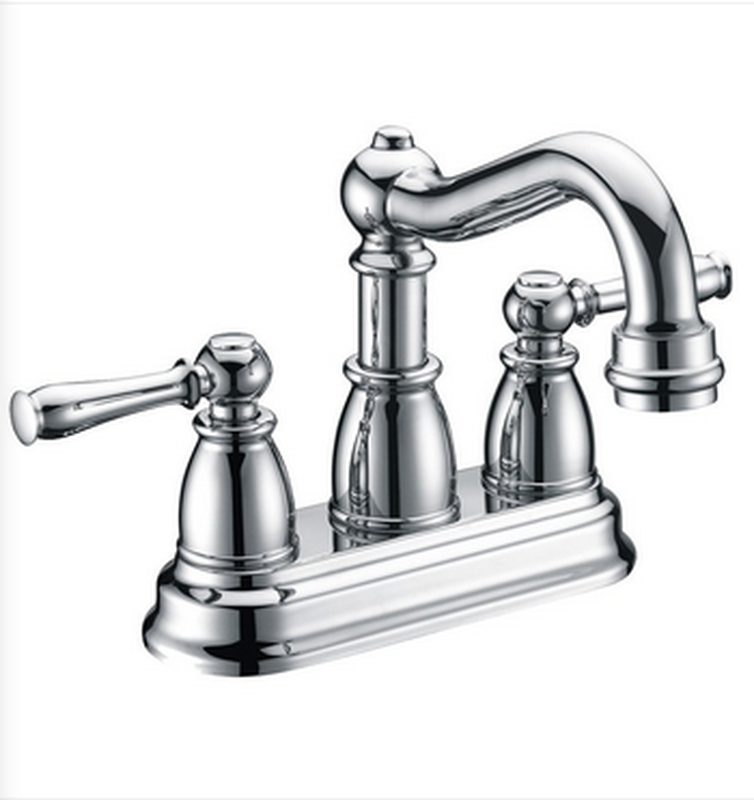 Buy Two Lever Handle Centerset Deck Mounted Lavatory Faucet - Zen Tap Sinks