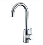 Buy Single Lever Handle Kitchen Faucet with Brass Construction - Zen Tap Sinks - 1
