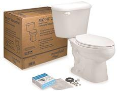 MANSFIELD® PRO-FIT® WATERSENSE® HIGH-EFFICIENCY ROUND TOILET IN A BOX