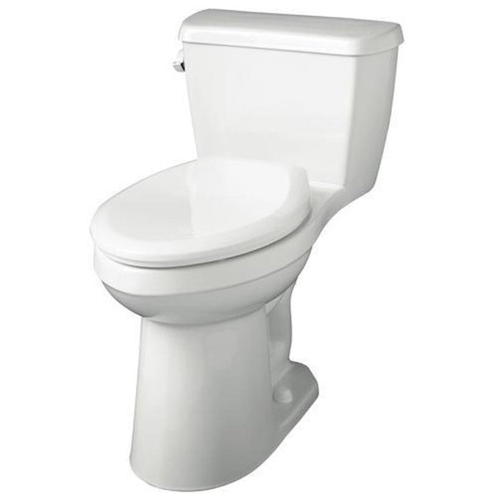 GERBER® AVALANCHE™ 1.28 1-PC ADA ELONGATED COMPACT SIPHON JET TOILET, WHITE