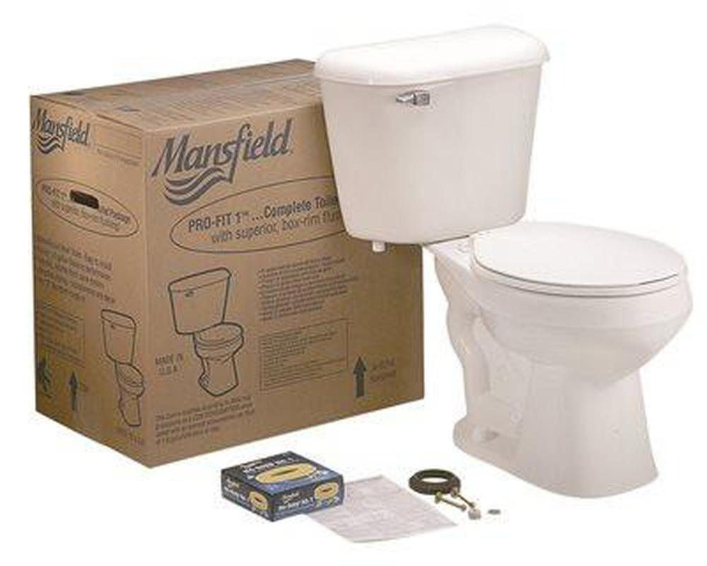 PRO-FIT 1 ROUND FRONT COMPLETE TOILET KIT
