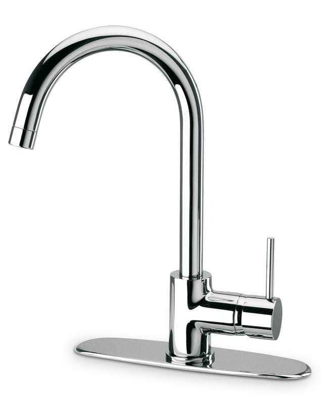 Latoscana Elba Single Handle Pull-Down Kitchen Faucet, Stream Only ...