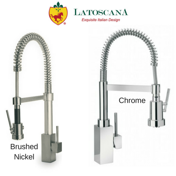 Latoscana Dax Single Handle Kitchen Faucet with Spring Spout
