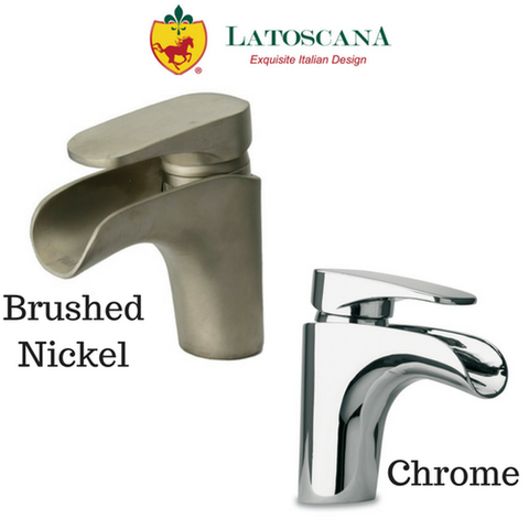 Latoscana Novello Waterfall Single Lever Handle Lavatory Faucet