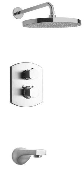 Latoscana Novello Thermostatic Valve with 2 Way Diverter Volume Control
