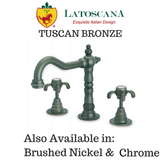 LaToscana Ornellaia Roman Tub with Cross Handles