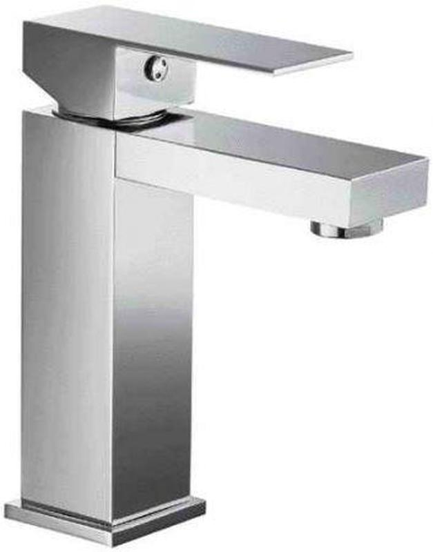 Buy Alfi Brand AB1229 Single Lever Square Bathroom Faucet Polished or Brushed - Zen Tap Sinks - 1