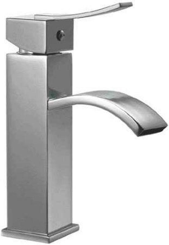 Buy Alfi Brand AB1258 Single Lever Square Bathroom Faucet Polished or Brushed - Zen Tap Sinks - 1