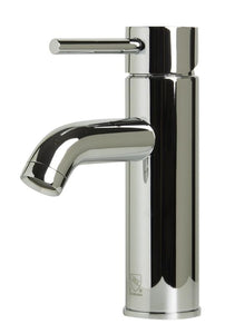 Alfi Brand AB1433 Single Lever Round Bathroom Faucet Polished or Brushed