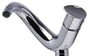 Alfi Brand AB1570 Single Lever Tall Wave Bathroom Faucet Polished & Brushed
