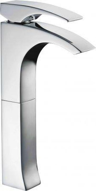 Buy Online Alfi Brand AB1587 Single Lever Tall Modern Bathroom Faucet Polished/Brushed - Zen Tap Sinks - 1