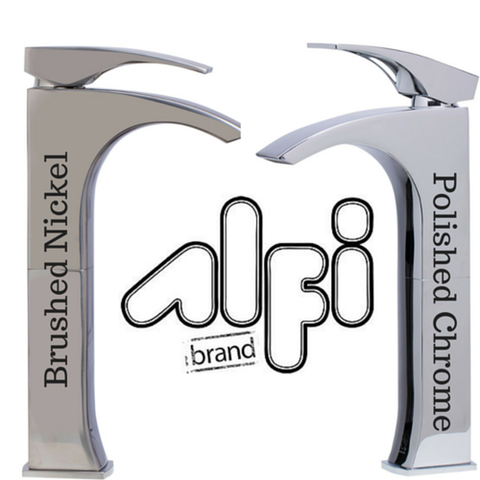 Buy Alfi Brand AB1587 Single Lever Tall Modern Bathroom Faucet Polished/Brushed