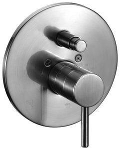 ALFI brand AB1701 Pressure Balanced Round Shower Mixer with Diverter