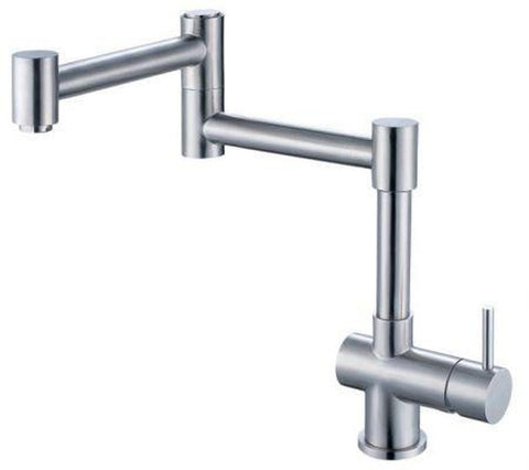 Buy Alfi Brand AB2038 Solid Stainless Steel Retractable Kitchen Faucet - Zen Tap Sinks - 1
