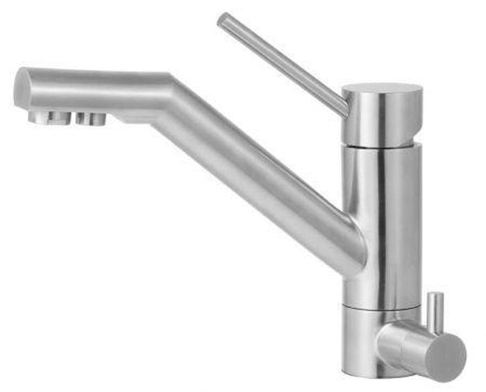 Buy Alfi Brand AB2040 Solid Stainless Steel Kitchen Faucet & Water Dispenser - Zen Tap Sinks - 1