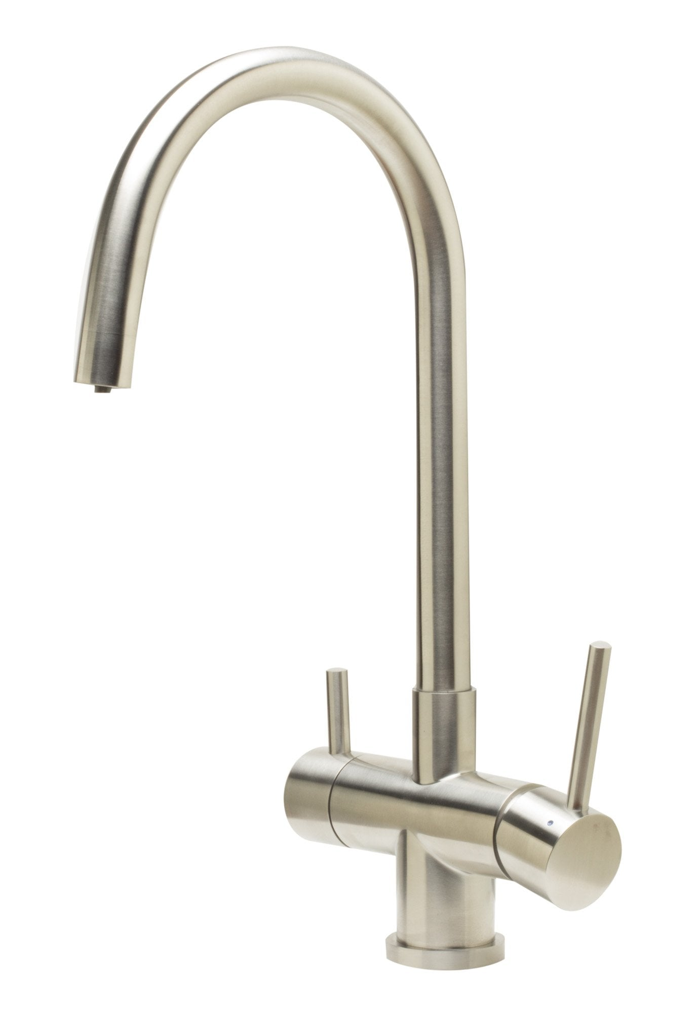ALFI brand AB2042 Solid Stainless Steel Kitchen Faucet & Drinking Water Dispenser Combo
