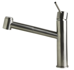 Alfi Brand AB2203 - Stainless Steel Kitchen Faucet /w Pull-Out Spray
