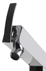 Alfi Brand AB2728 - Floor Mounted Tub Filler + Mixer /w additional Hand Held Shower Head