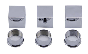 Alfi Brand AB2801 3-Way Thermostatic Valve Shower Mixer Square Knobs